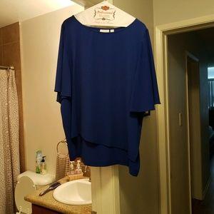 Colbalt Blue Blouse/Top